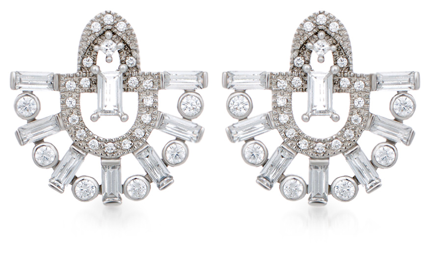 V Jewellery Runa earring