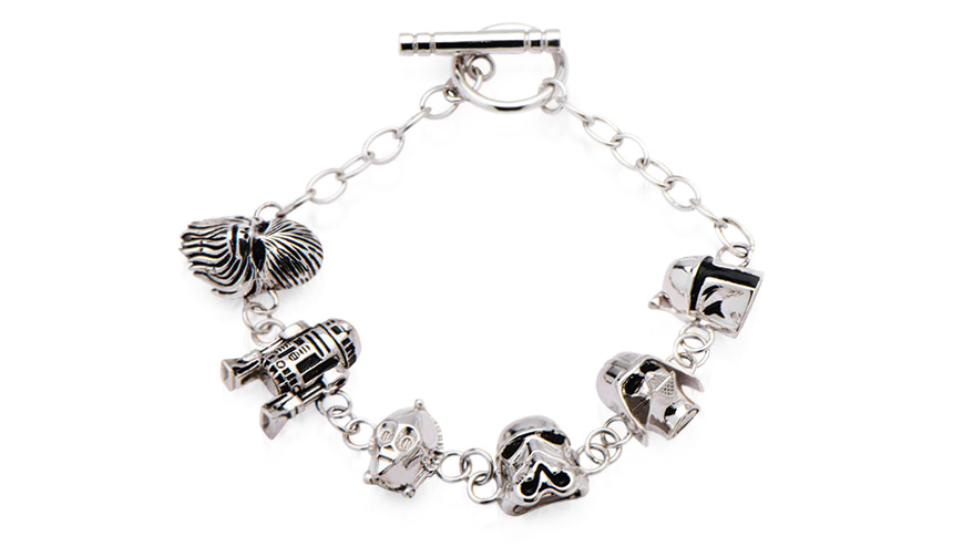 Star Wars toggle clasp bracelet from Holllis Bahringer