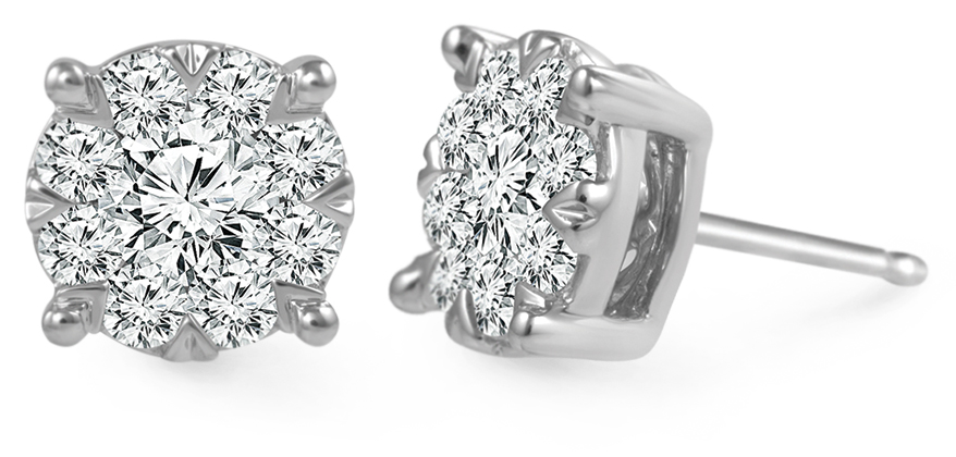 Diamond earrings from IDD