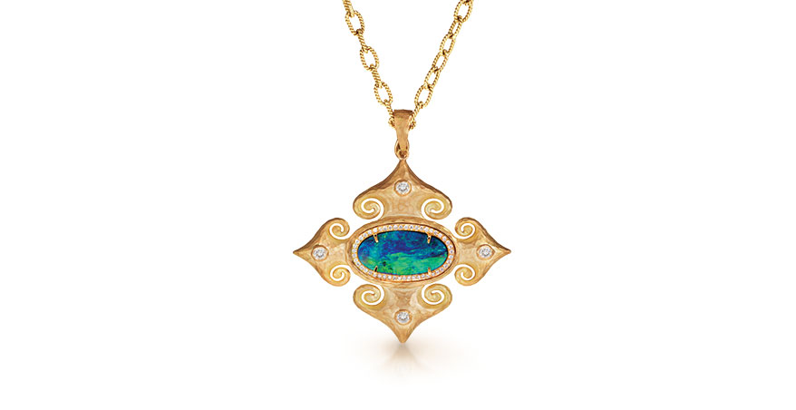 St. Petersburg Maltese Cross pendant from Pamela Froman