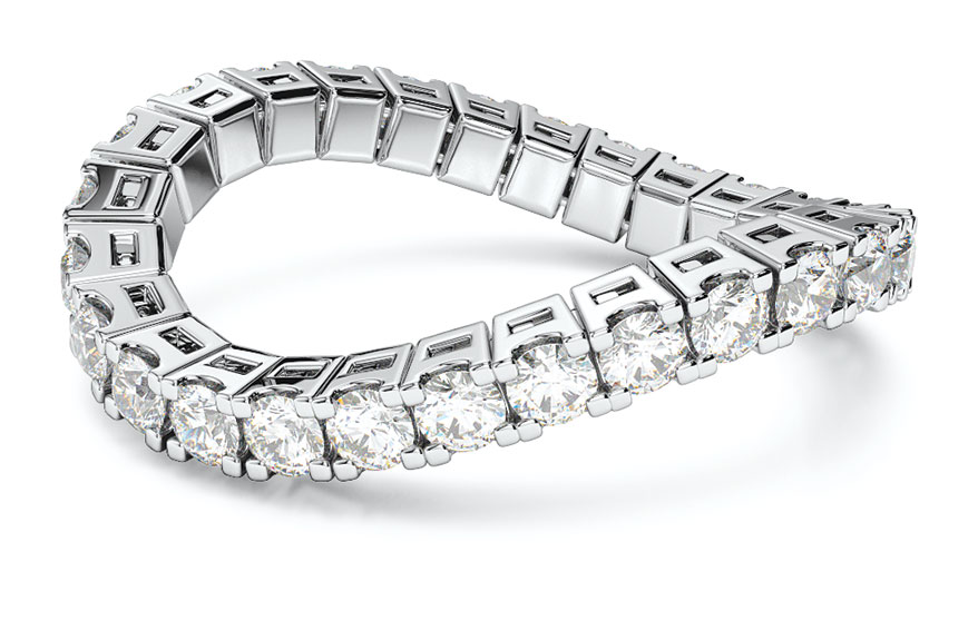 Brevani's new Spryngs eternity bands